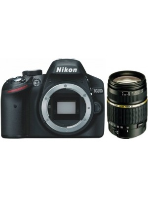Nikon D3200 Body SLR with Tamron AF 18 - 200 mm F/3.5-6.3 XR Di-II LD Aspherical (IF) Macro for Niko