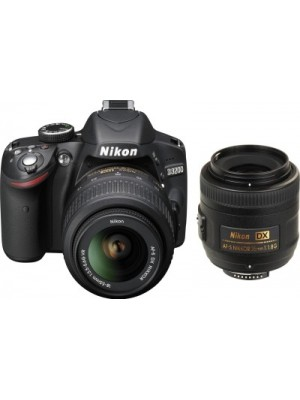 Nikon D3200 DSLR Camera (Body only)(Black)