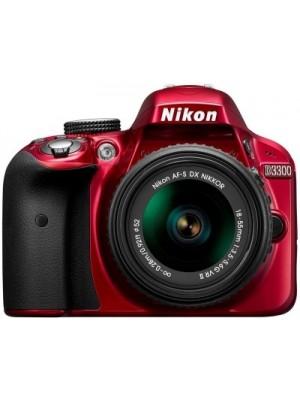 Nikon D3300 DSLR Camera (Body only)(Red)