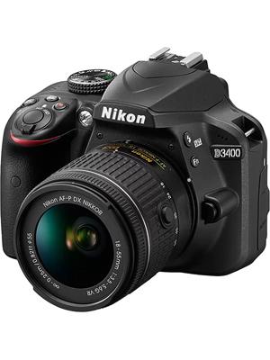 Nikon D3400 DSLR Camera Body only 16 GB SD Card