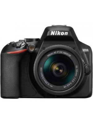 Nikon D3500 DSLR Camera AF-P DX NIKKOR 18-55mm f/3.5-5.6G VR