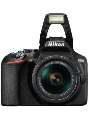 Nikon D3500 DSLR Camera Body with 18-55 mm f/3.5-5.6 G VR and AF-P DX Nikkor 70-300 mm