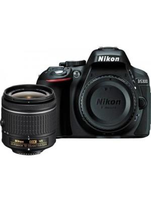 Nikon D5300 DSLR Camera (Body with AF-P DX NIKKOR 18-55 mm f/3.5-5.6G VR Kit)(Black)