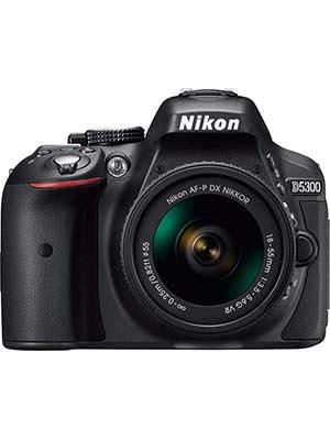 Nikon D5300 DSLR Camera with 18-55mm Lens And AF-S DX NIKKOR 55-300mm f/4.5-5.6G ED VR Lens