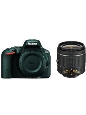 Nikon D5500 DSLR Camera (Body with DX AF-P NIKKOR 18-55 mm F/3.5 - 5.6G VR Kit)(Black)