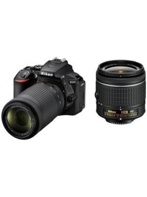 Nikon D5600 DSLR Camera With the AF-P DX Nikkor 18 - 55 MM F/3.5-5.6G VR and AF-P DX Nikkor 70-300 M