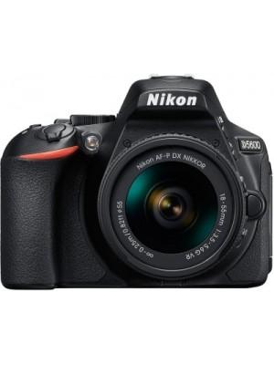Nikon D5600 DSLR Camera With the AF-P DX Nikkor 18 - 55 MM F/3.5-5.6G VR(Black)