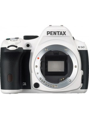 Pentax K 50 (Body only) DSLR Camera(White)