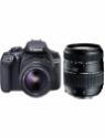 Canon 1300D DSLR Camera Body with Dual Lens Canon EF-S 18-55 IS II+Tamron AF 70-300 mm F/4-5.6 Di LD Macro Lens (16 GB SD Card+Camera Bag)