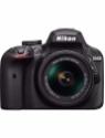 Nikon D3400 DSLR Camera with Lens AF-P DX NIKKOR 18 - 55 mm f/3.5 - 5.6G VR and AF-S DX NIKKOR 55-200mm f/4-5.6G ED VR II Lens