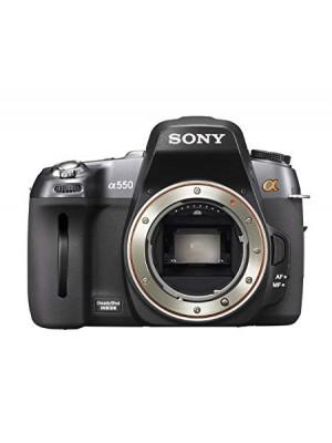 Sony Alpha DSLR-A550 14.2MP Digital SLR Camera (Body Only)