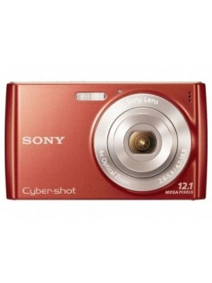 Sony Cybershot DSC-W510 Mirrorless Camera(Red)