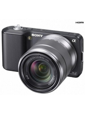 Sony NEX-3K body with 18-55mm lens Mirrorless Camera(Black)