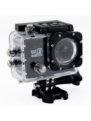 YourDeal Wifi 12 Mp 1080p Hd Sports Dv 170 Degree Wide Angle Car Recorder Diving Camera(CMOS-Sensor)