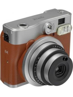 Fujifilm Instax Mini 90 Neo Classic Instant Camera(Brown)
