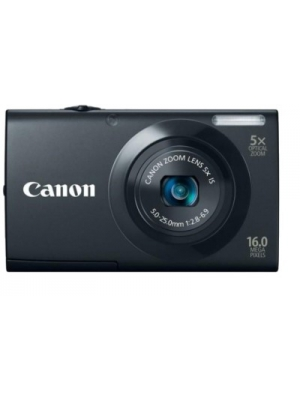 Canon A3400 IS Point & Shoot Camera(Black)