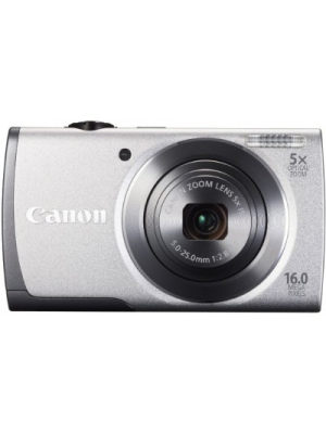 Canon A3500 IS Point & Shoot Camera(Silver)