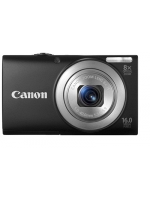 Canon A4000 IS Point & Shoot Camera(Black)