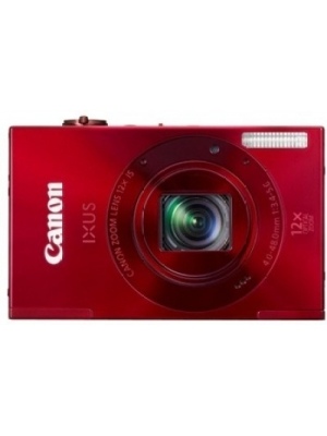 Canon Digital IXUS 500 HS Point & Shoot Camera(Red)