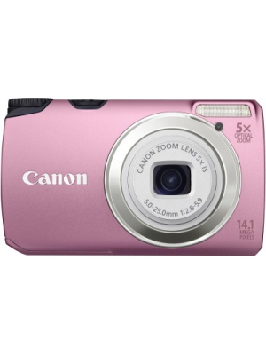 Canon PowerShot A 3200 IS Point & Shoot Camera(Pink)