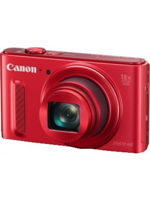 Canon SX610 HS Point & Shoot Camera(Red)