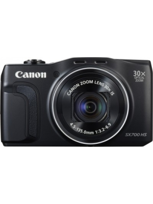 Canon SX700 HS Point & Shoot Camera(Black)