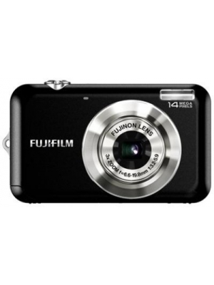 Fujifilm FinePix JV 150 Point & Shoot Camera(Black)