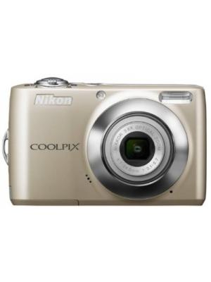Nikon Coolpix L24 Point & Shoot Camera(Silver)