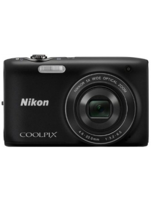 Nikon Coolpix S3100 Point & Shoot Camera(Black)