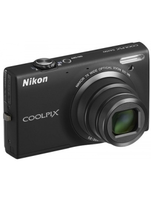 Nikon Coolpix S6150 Point & Shoot Camera(Black)