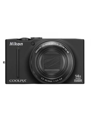 Nikon Coolpix S8200 Point & Shoot Camera(Black)