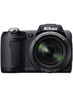 Nikon L110 Point & Shoot Camera(Black)