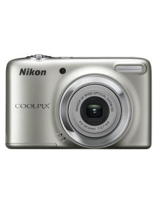 Nikon L25 Point & Shoot Camera(Silver)