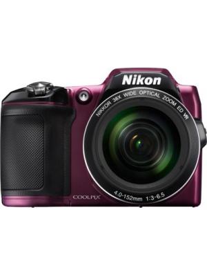 Nikon L840 Point & Shoot Camera(Plum)