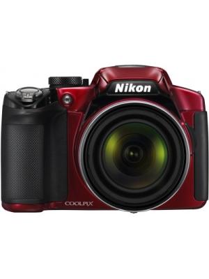 Nikon P510 Point & Shoot Camera(Red)