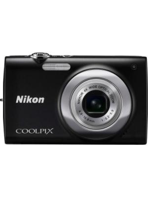 Nikon S2500 Point & Shoot Camera(Black)