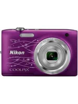 Nikon S2800 Point & Shoot Camera(Violet)