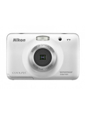 Nikon S30 Point & Shoot Camera(White)