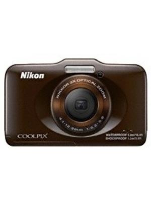Nikon S31 Waterproof Point & Shoot Camera(Brown)