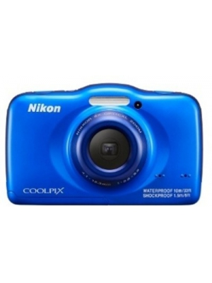 Nikon S32 Point & Shoot Camera(Blue)