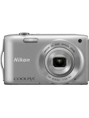 Nikon S3200 Point & Shoot Camera(Silver)