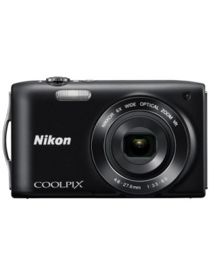 Nikon S3300 Point & Shoot Camera(Black)