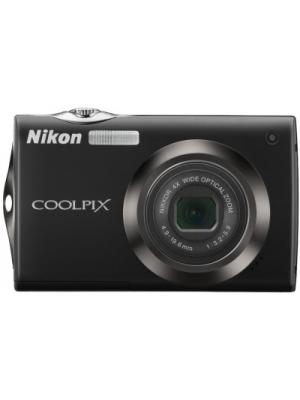 Nikon S4000 Point & Shoot Camera(Black)