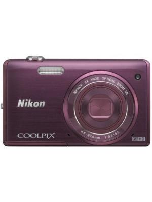 Nikon S5200 Point & Shoot Camera(Purple)