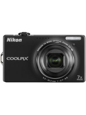 Nikon S6000 Point & Shoot Camera(Black)