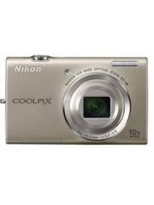 Nikon S6200 Point & Shoot Camera(Silver)
