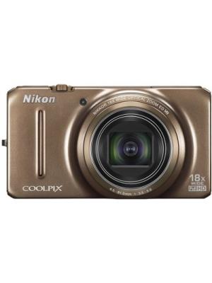 Nikon S9200 Point & Shoot Camera(Brown)