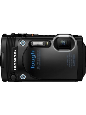 Olympus TG-860 Camera TG-860 with 4GB Card, Battery Charger Carry Case Point & Shoot Camera(Black)