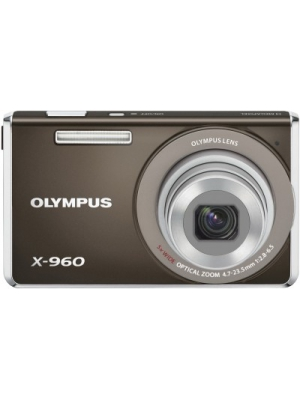 Olympus X - 960 Point & Shoot Camera(Grey)