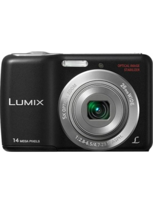 Panasonic Lumix DMC-LS5 Point & Shoot Camera(Black)
